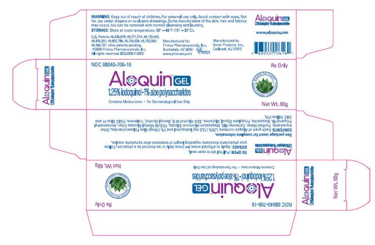 Aloquin (Aloe Vera Leaf And Iodoquinol) Gel [Primus Pharmaceuticals]
