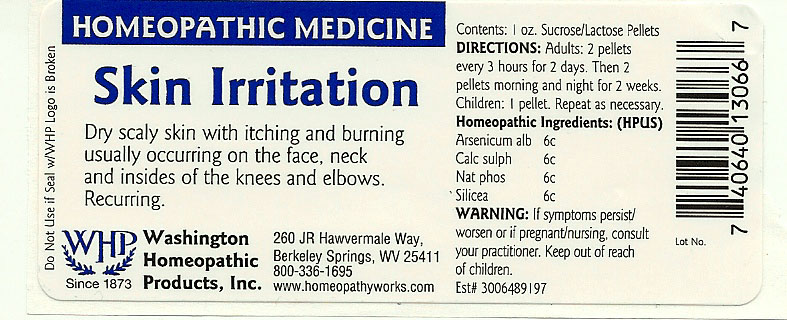 Skin Irritation (Arsenic Trioxide – Calcium Sulfate Anhydrous – Sodium Phosphate, Dibasic Anhydrous – Silicon Dioxide) Pellet [Washington Homeopathic Products]