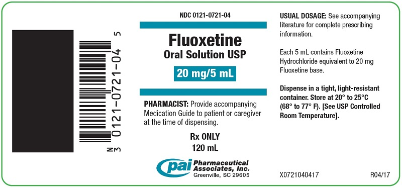 Fluoxetine (Fluoxetine Hydrochloride) Solution [Pharmaceutical Associates, Inc.]