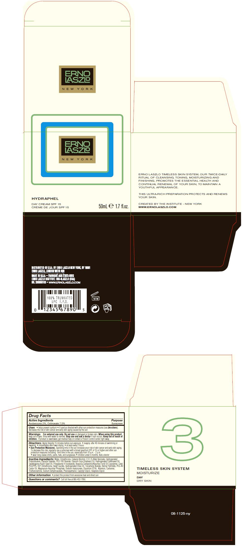 Hydraphel Day Spf15 (Avobenzone And Octinoxate) Cream [Erno Laszlo, Inc.]