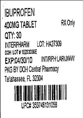 Label Image 400 mg