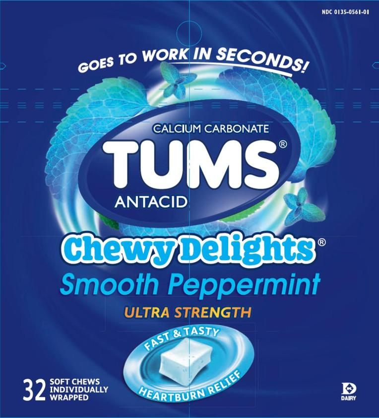 Tums Chewy Delights (Calcium Carbonate) Bar, Chewable [Glaxosmithkline Consumer Healthcare Lp]