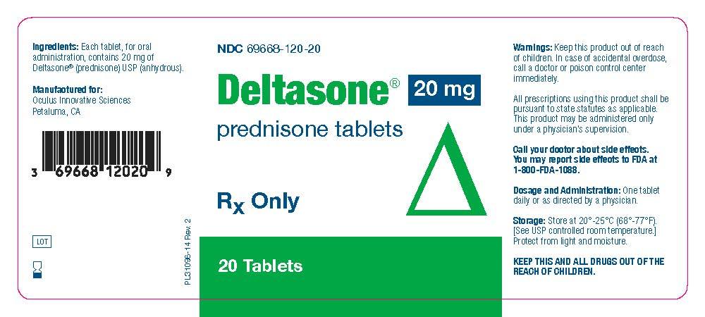 Deltasone (Prednisone) Tablet [Oculus Innovative Sciences]
