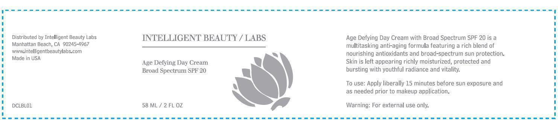 Intelligent Beauty Labs Age Defying Day Broad Spectrum Spf 20 (Avobenzone, Octinoxate, Octisalate) Cream [Dermstore, Llc]