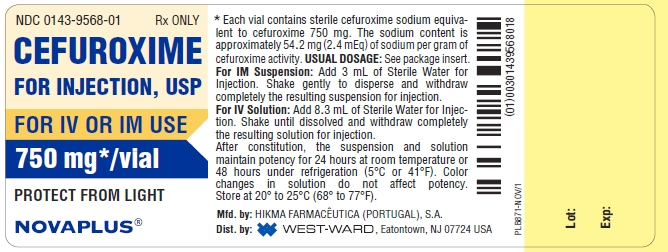 Cefuroxime Injection, Powder, For Solution [West-ward Pharmaceutical Corp]