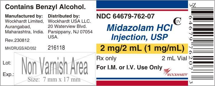 Midazolam Hydrochloride Injection [Wockhardt Limited]