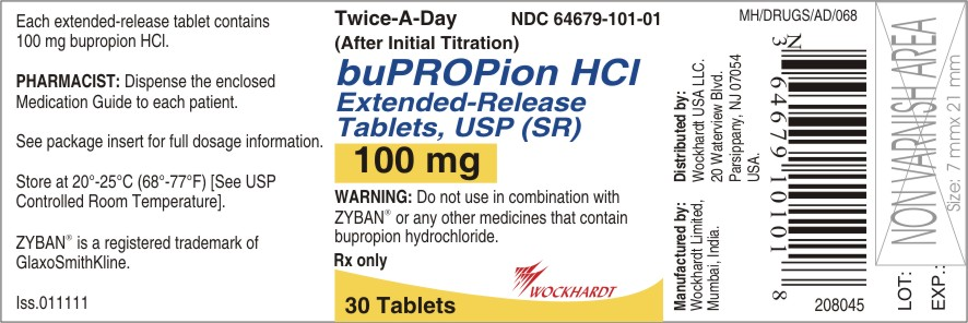 Bupropion Hydrochloride (Sr) (Bupropion Hydrochloride) Tablet, Film Coated, Extended Release [Wockhardt Limited]