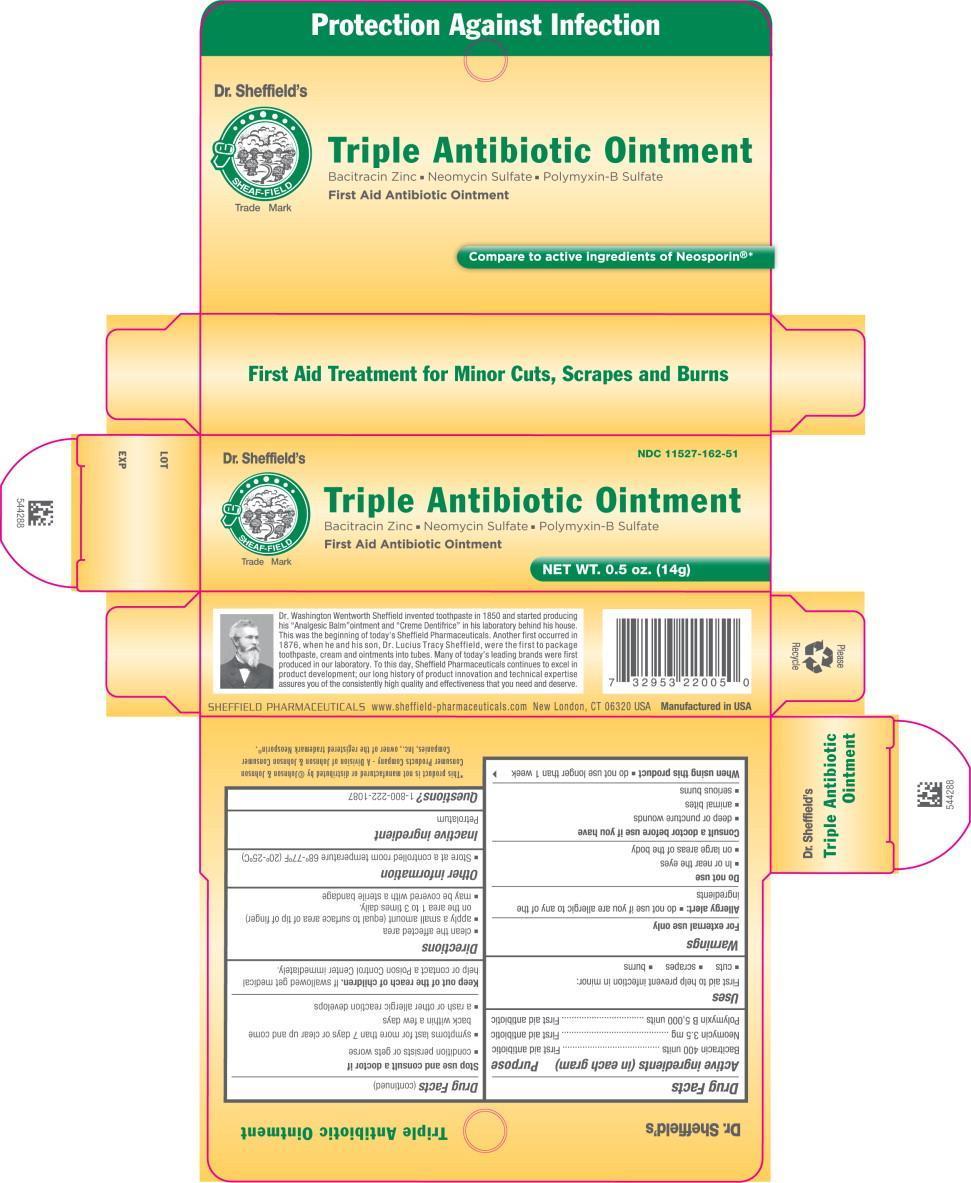Sheffield Triple Antibiotic (Bacitracin Zinc, Polymyxin B Sulfate, Neomycin Sulfate) Ointment [Faria Llc Dba Sheffield Pharmaceuticals]