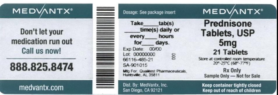 Prednisone Tablet [Medvantx, Inc.]