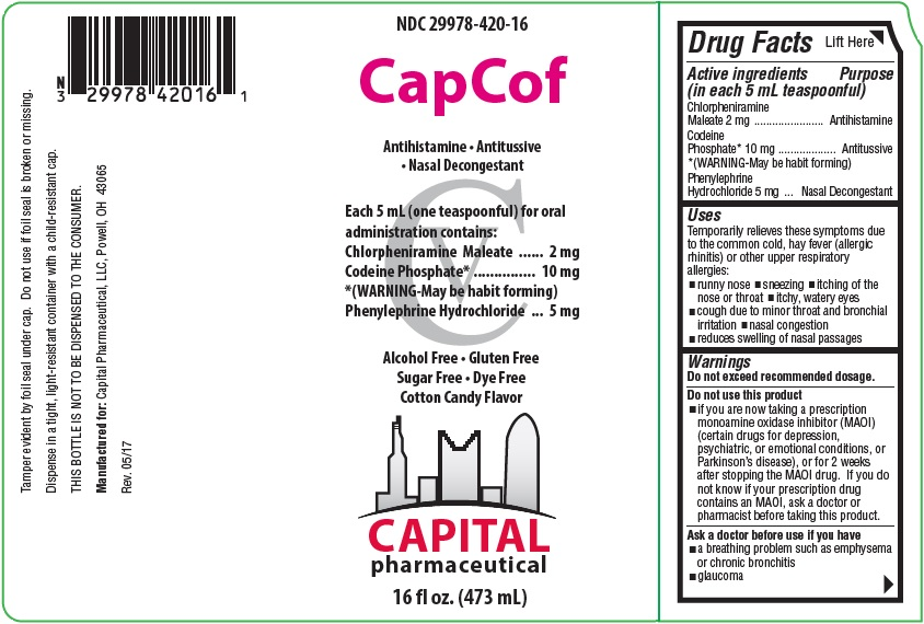 CapCof Label 1