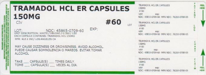 Tramadol Hydrochloride Capsule, Extended Release [Medsource Pharmaceuticals]