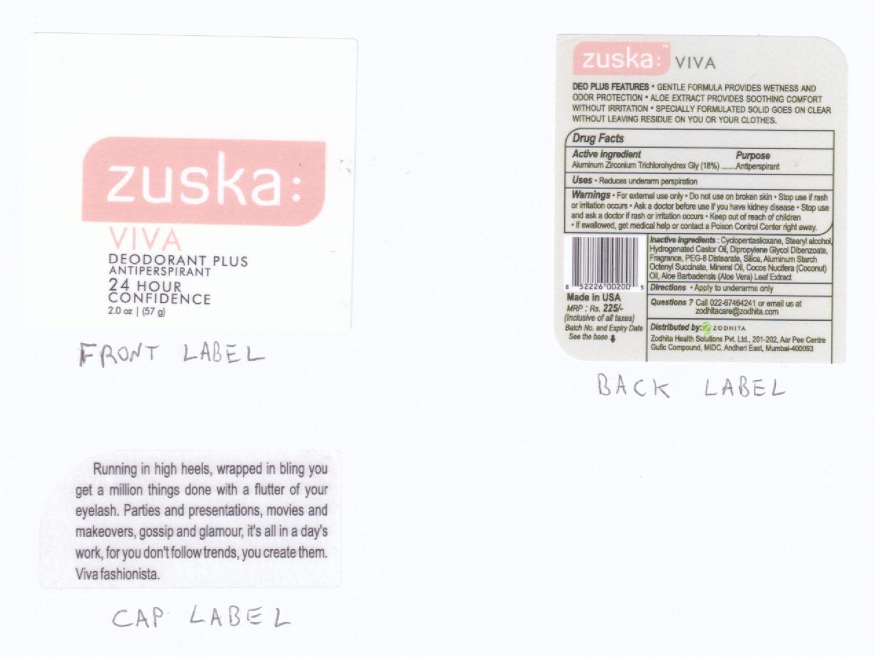image of canister label