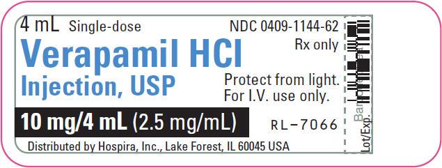 PRINCIPAL DISPLAY PANEL - 2 mL Vial Carton - NDC 0409-1144-01