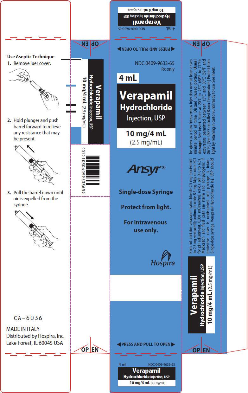 PRINCIPAL DISPLAY PANEL - 4 mL Syringe Carton