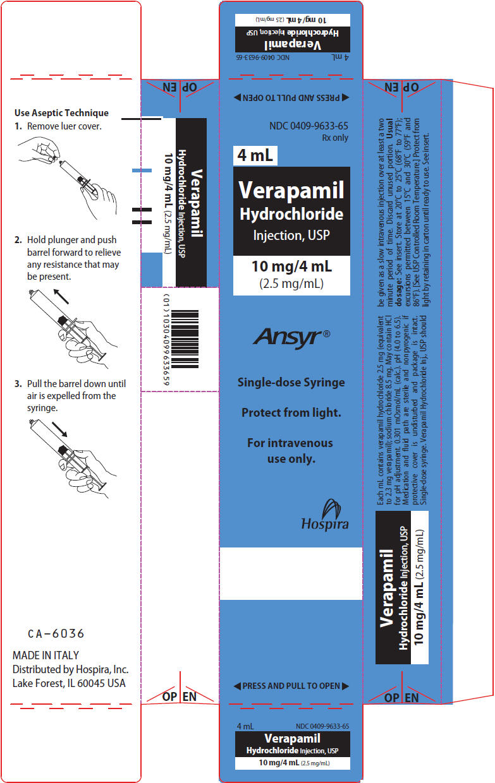 PRINCIPAL DISPLAY PANEL - 4 mL Syringe Label