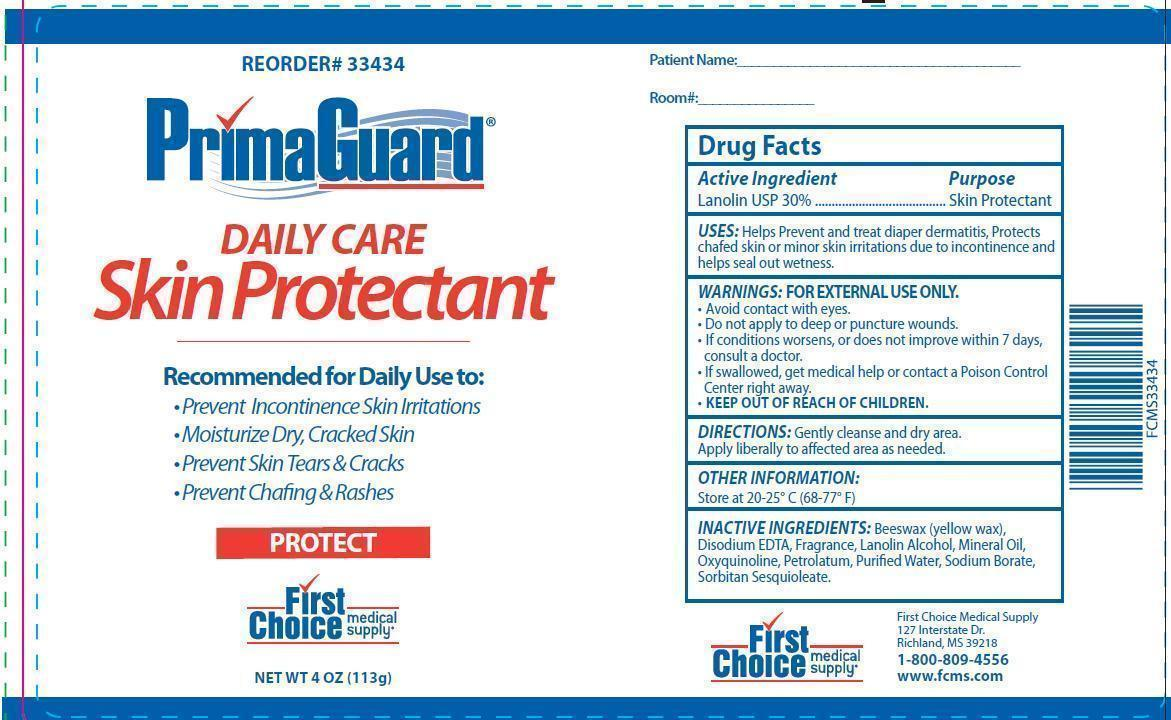 Primaguard Daily Care Skin Protectant (Lanolin) Ointment [First Choice Medical Supply]