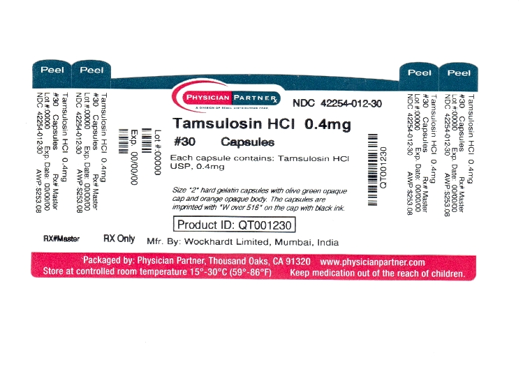 Tamsulosin HCl 0.4mg