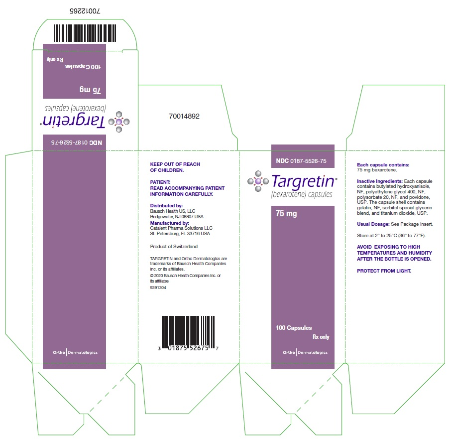 Targretin (Bexarotene) Capsule, Liquid Filled [Valeant Pharmaceuticals North America Llc]