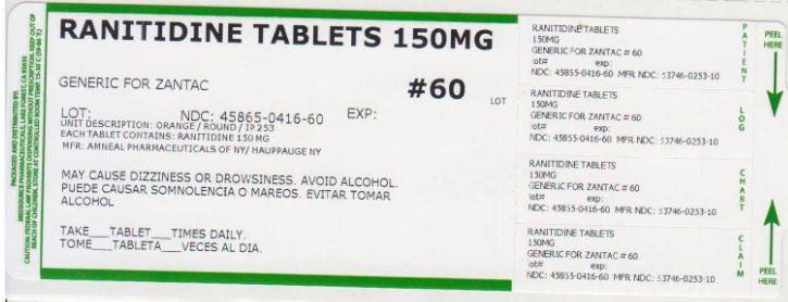 Ranitidine Tablet [Medsource Pharmaceuticals]