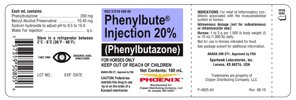 Phenylbute (Phenylbutazone) Injection [Clipper Distributing Company, Llc]