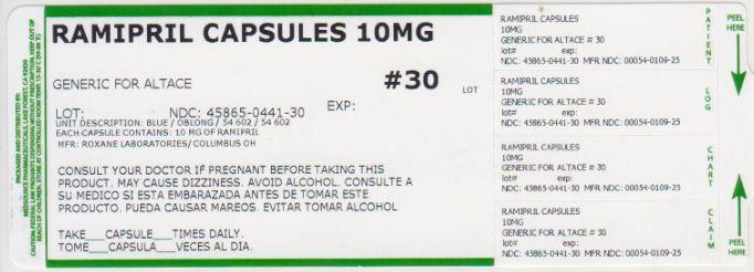 Ramipril Capsule [Medsource Pharmaceuticals]