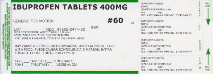 Ibuprofen Tablet [Medsource Pharmaceuticals]