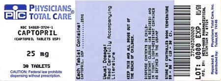 Captopril Tablets 25 mg