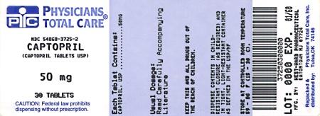 Captopril Tablets 50 mg