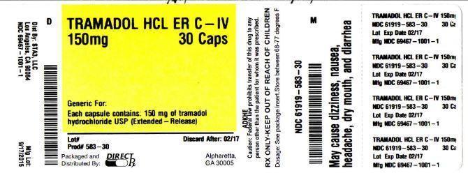 Tramadol Hydrochloride Capsule [Direct Rx]