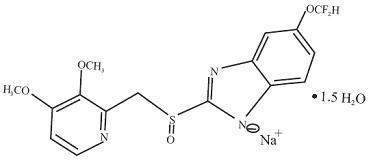 Pantoprazole Sodium Delayed Release (Pantoprazole Sodium) Tablet [New Horizon Rx Group, Llc]