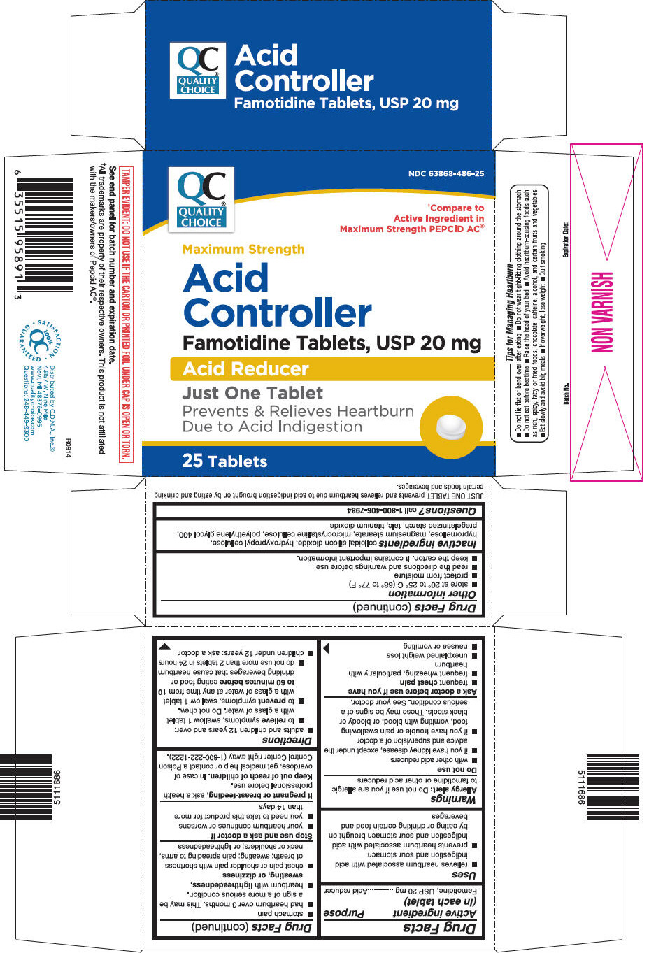 PRINCIPAL DISPLAY PANEL - 20 mg Tablet Bottle Carton