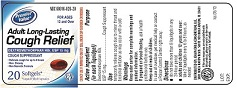 Adult Long Lasting-cough Relief (Dextromethorphan Hbr,usp) Capsule [Chain Drug Consortium Llc]