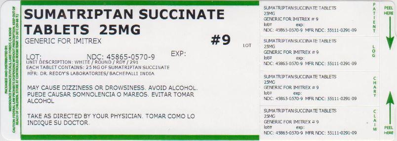 Sumatriptan Succinate Tablet [Medsource Pharmaceuticals]