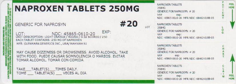 Naproxen Tablet [Medsource Pharmaceuticals]