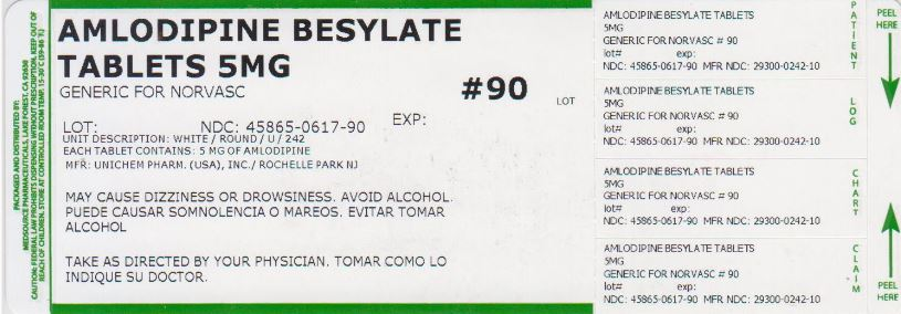 Amlodipine Besylate Tablet [Medsource Pharmaceuticals]