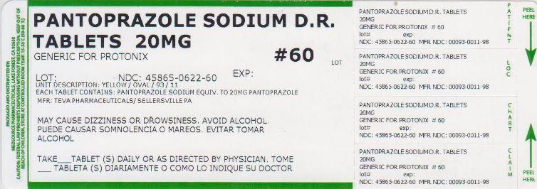 Pantoprazole Sodium Tablet, Delayed Release [Medsource Pharmaceuticals]