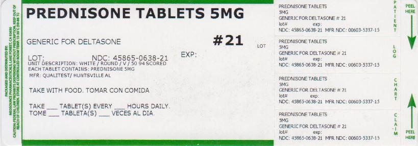 Prednisone Tablet [Medsource Pharmaceuticals]