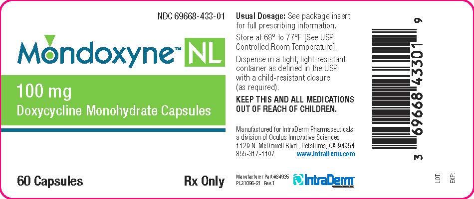 Mondoxyne Nl 100mg (Doxycycline) Capsule [Oculus Innovative Sciences]
