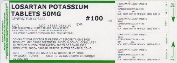 Losortan Potassium (Losartan Potassium) Tablet, Film Coated [Medsource Pharmaceuticals]