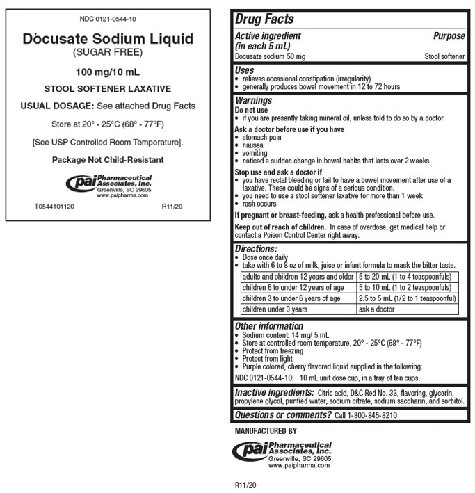 Docusate Sodium Liquid [Pharmaceutical Associates, Inc.]