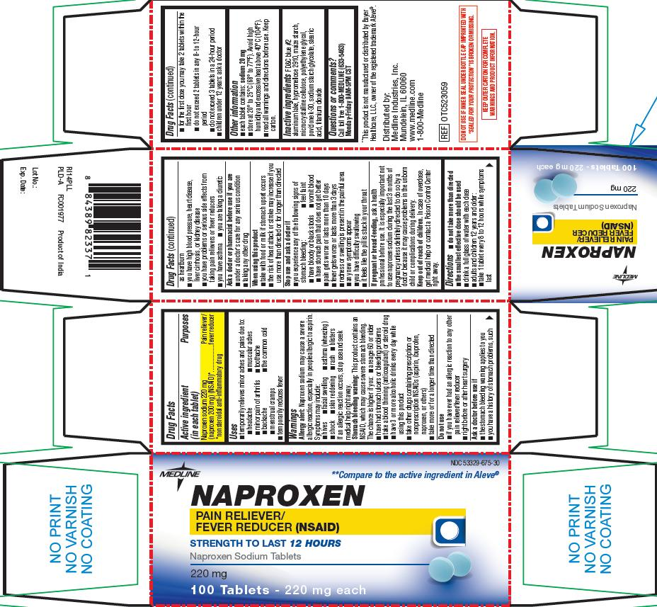Naproxen (Naproxen Sodium) Tablet [Medline Industries, Inc.]