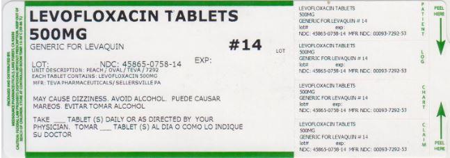 Levofloxacin Tablet, Film Coated [Medsource Pharmaceuticals]