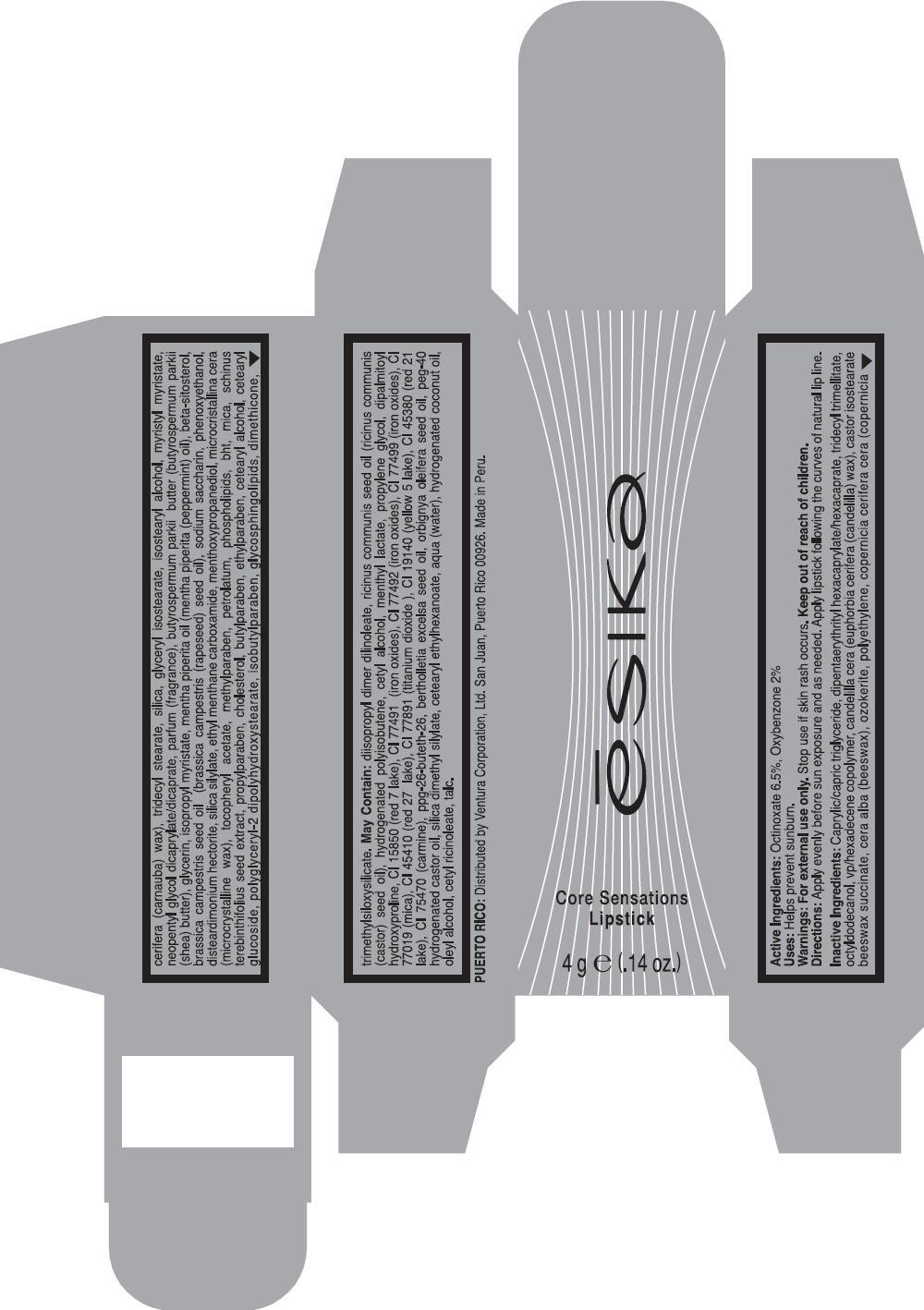 Esika (Octinoxate And Oxybenzone) Lipstick [Ventura Corporation (San Juan, P.r)]