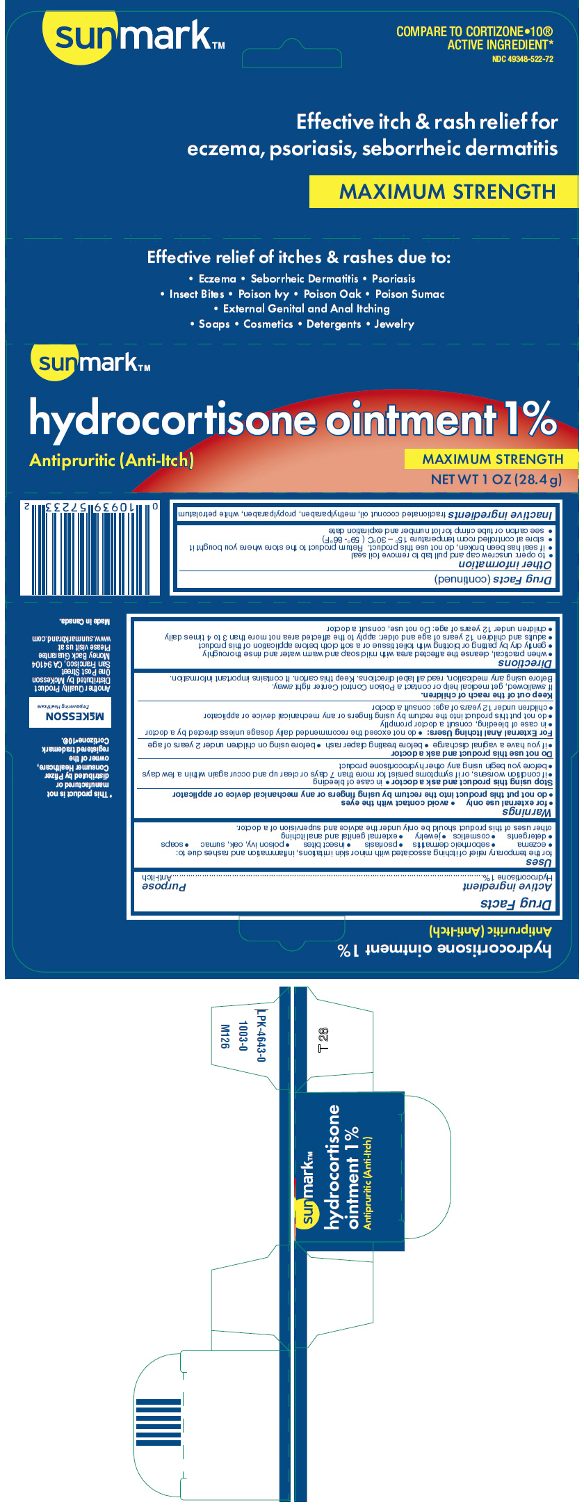Sunmark Hydrocortisone (Hydrocortisone) Ointment [Mckesson]