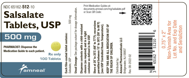 500 mg label