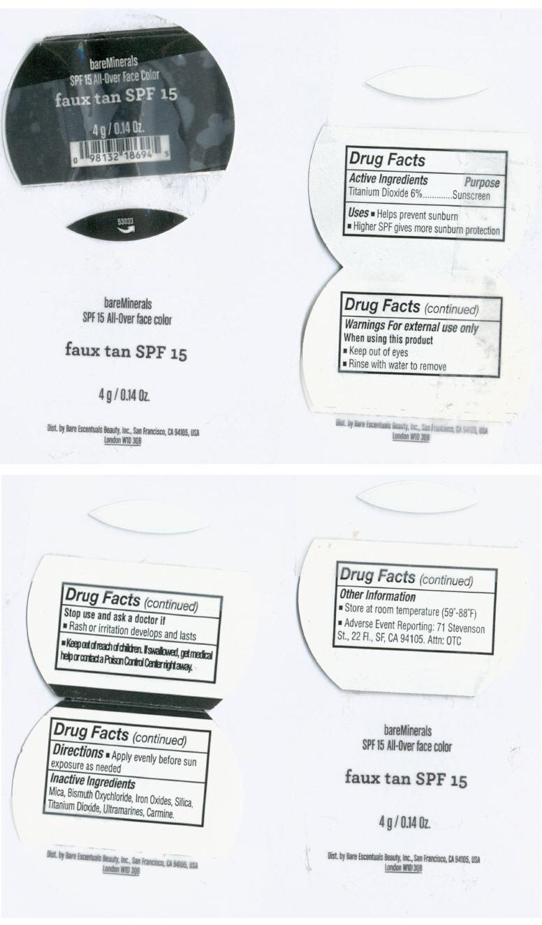 Principal Display Panel - 4 g Jar Label