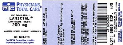 LAMICTAL IR 200MG label