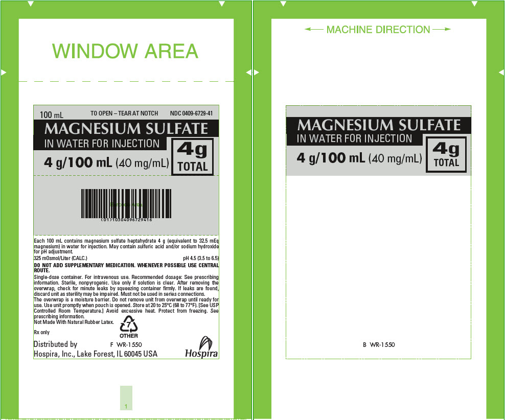 PRINCIPAL DISPLAY PANEL - 80 mg/mL Bag Pouch Label