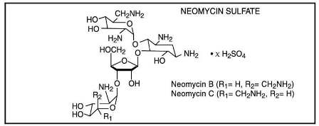 Fera Pharmaceuticals Neomycin Sulfate Structural Formula