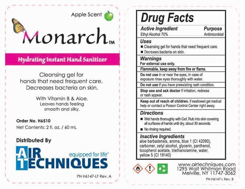 Hydrating Instant Hand Sanitizer (Alcohol) Gel [Micrylium Laboratories]